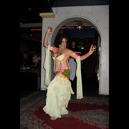 belly dance performances by Beth Amine