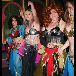 Beth Amine Belly Dance Class