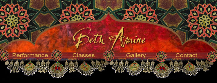 Beth Amine Belly Dance Section header